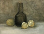 still life lemon